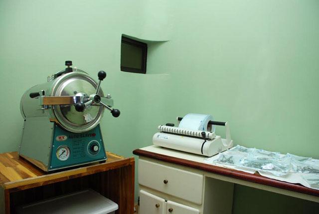 Cuarto de Esterilización Clínica Privada de Urgencias PZ
