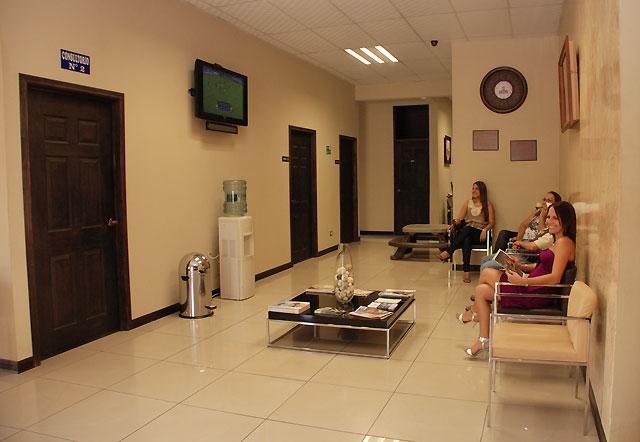Sala de espera Clínica Privada de Urgencias PZ