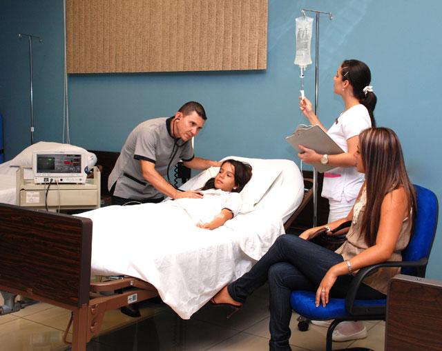 Sala Observación Adultos Clínica Privada de Urgencias PZ